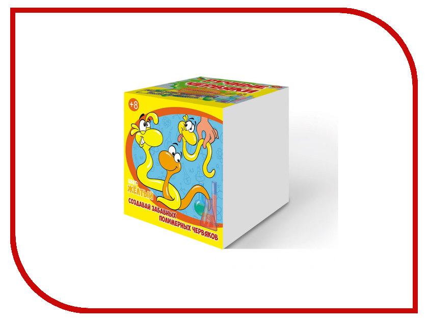 Игра GOOD FUN Цветные полимерные червяки Yellow GF002Y в минске полимерные листы