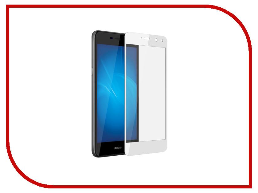 Аксессуар Защитное стекло Huawei Y3 2017 Pero 2.5D White аксессуар защитное стекло highscreen fest xl pro luxcase 0 33mm 82179