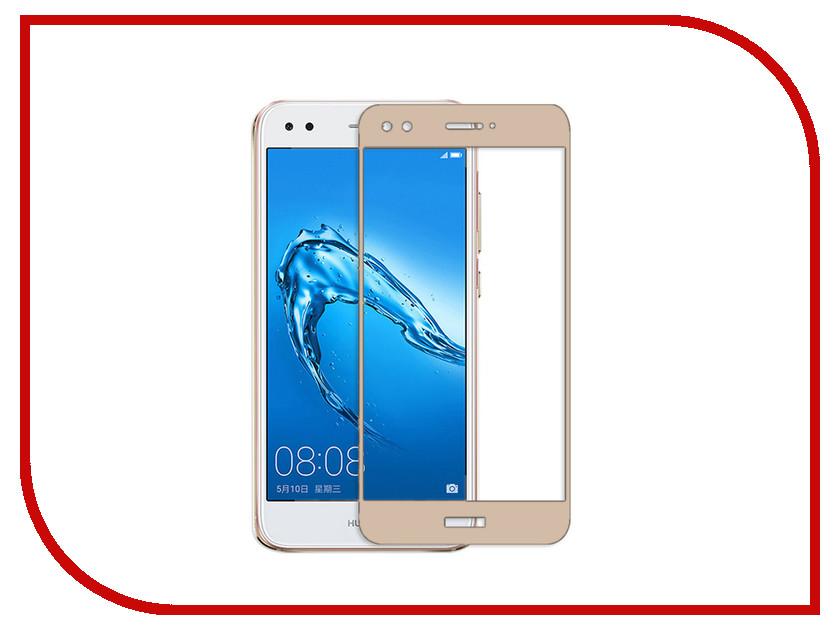 Аксессуар Защитное стекло Huawei Nova Lite Pero 2.5D Gold huawei huawei nova lite 2017 black