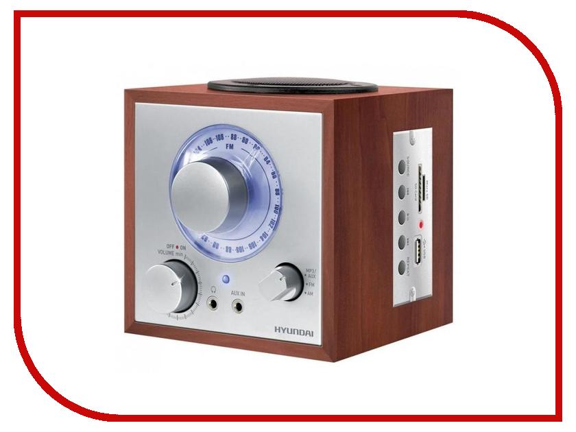 лучшая цена Радиоприемник Hyundai H-SRS200
