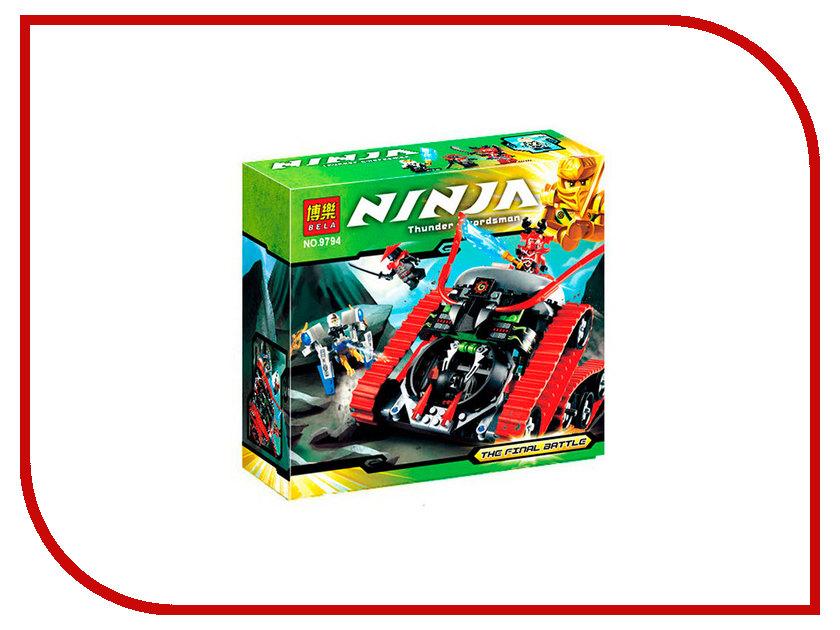 Конструктор Bela Ninja Гарматрон 335дет. 9794 755pcs bela 10325 ninja db x nya pythor kai masters of spinjitzu ninja building block toys compatible with lego
