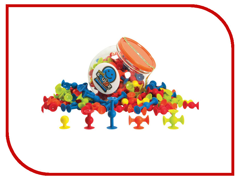 Конструктор Fat Brain Toys Mini Squigz 75 дет. FBT-FA107-1 fbt mitus 121sa