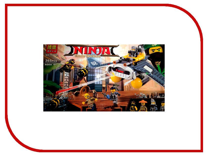 Конструктор Bela Ninja Бомбардировщик Морской дьявол 365дет. 10716 755pcs bela 10325 ninja db x nya pythor kai masters of spinjitzu ninja building block toys compatible with lego