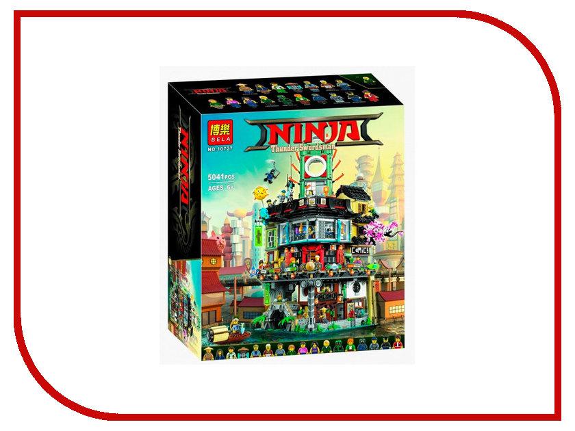 Конструктор Bela Ninja Сити 5041дет. 10727 755pcs bela 10325 ninja db x nya pythor kai masters of spinjitzu ninja building block toys compatible with lego