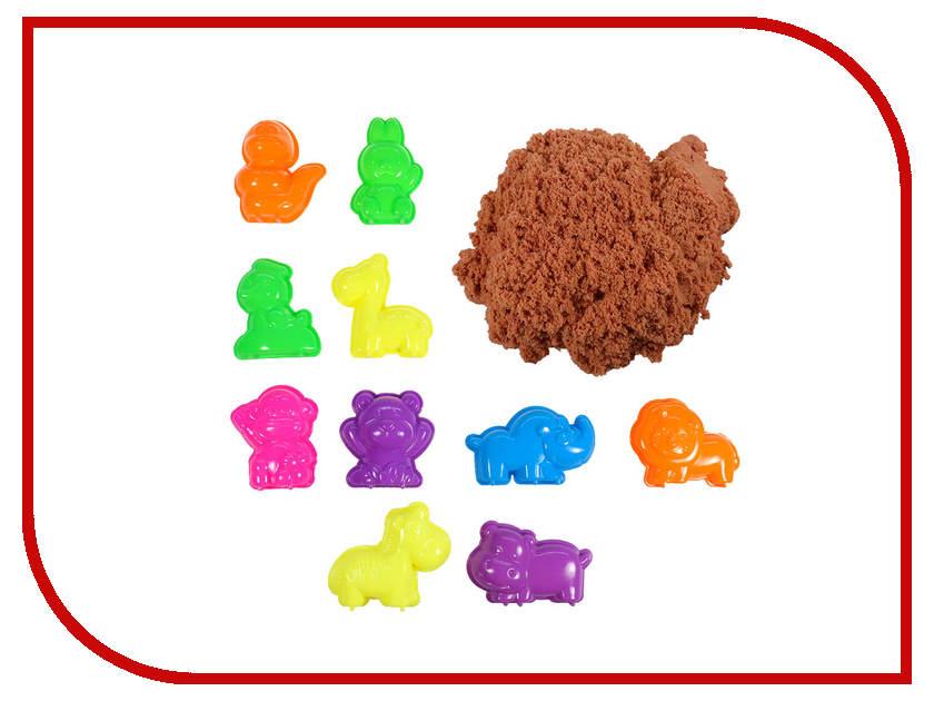 Набор для лепки 1Toy Космический песок Зоопарк Orange 1kg Т10621