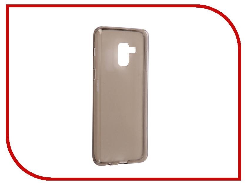 Аксессуар Чехол Samsung Galaxy A8 2018 A530 iBox Crystal Grey аксессуар чехол htc desire 825 ibox crystal grey