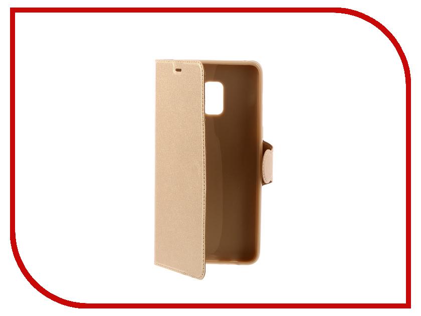 цена на Аксессуар Чехол Samsung Galaxy A8 Plus 2018 A730 Red Line Book Type Gold
