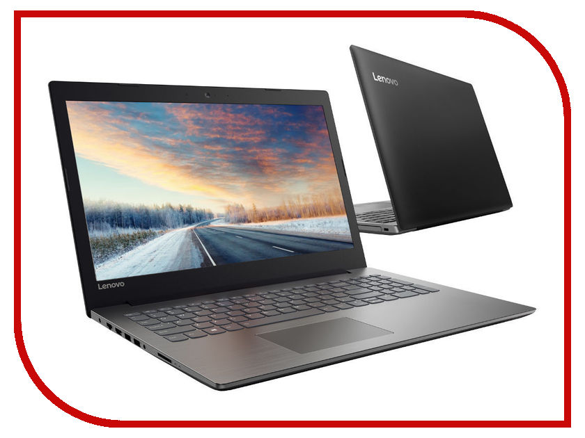 Ноутбук Lenovo IdeaPad 320-15IAP 80XR00WERK (Intel Pentium N4200 1.1 GHz/4096Mb/500Gb/DVD/-RW/Intel HD Graphics 505/Wi-Fi/Cam/15.6/1366x768/DOS)