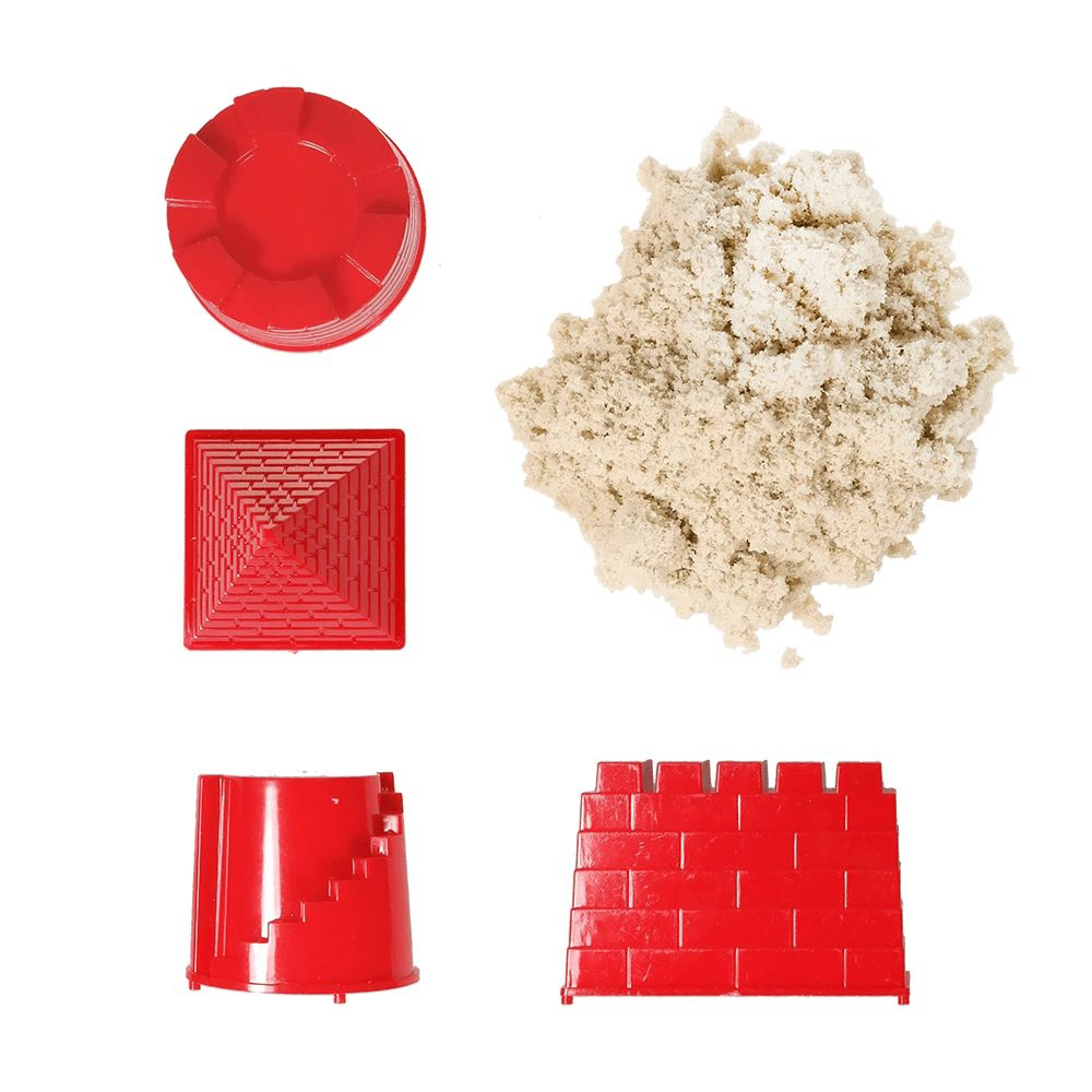 Набор для лепки Космический песок Замок классический 2kg Т10624 всё для лепки molly космический песок замок из волшебного песка 1 кг