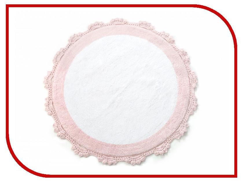 Коврик Irya Doreen Pembe/Beyaz 90x90cm Pink-White коврик irya despina pembe 60x90cm pink