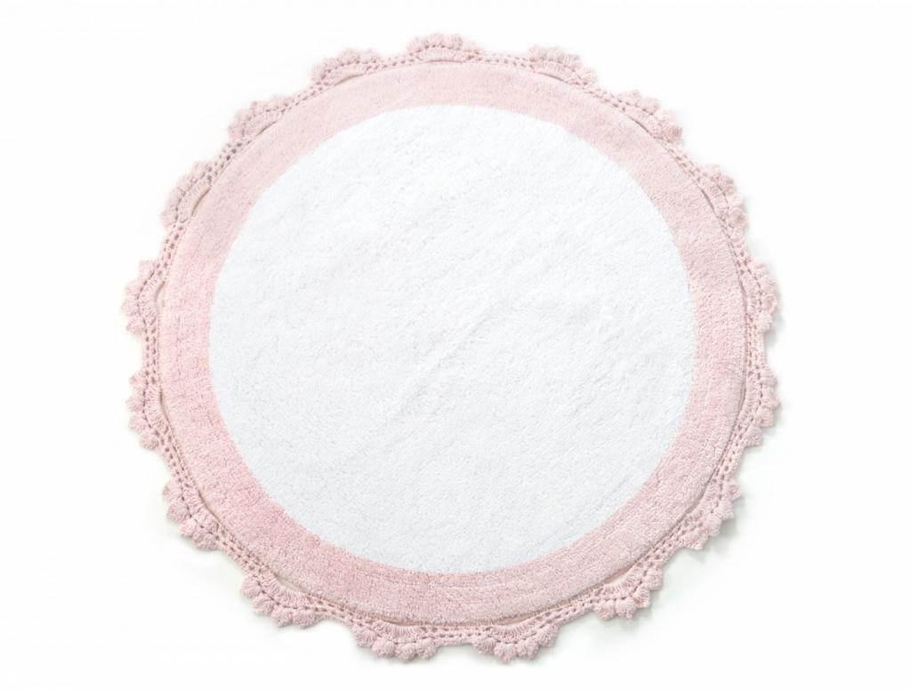 Коврик Irya Doreen Pembe/Beyaz 90x90cm Pink-White