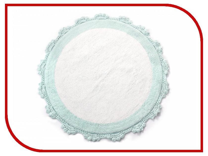 Коврик Irya Doreen Mint/Beyaz 90x90cm Menthol-White коврик irya tropic bej 60x100cm beige