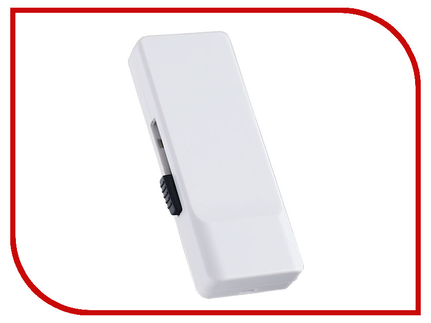 USB Flash Drive (флешка) R01 PF-R01W064  USB Flash Drive 64Gb - Perfeo R01 White PF-R01W064