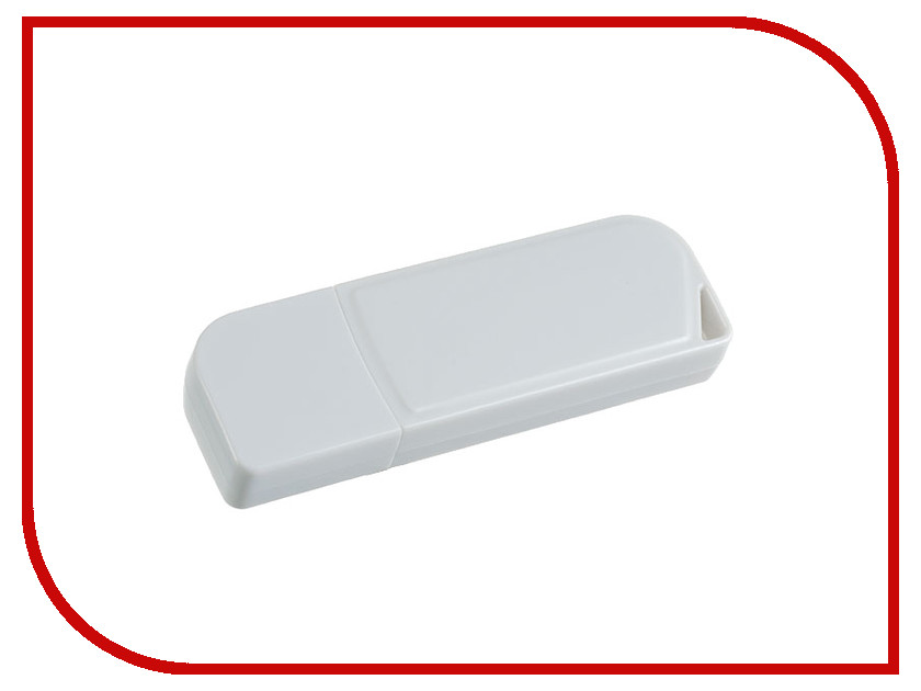 USB Flash Drive (флешка) C10 PF-C10W064  USB Flash Drive 64Gb - Perfeo C10 White PF-C10W064