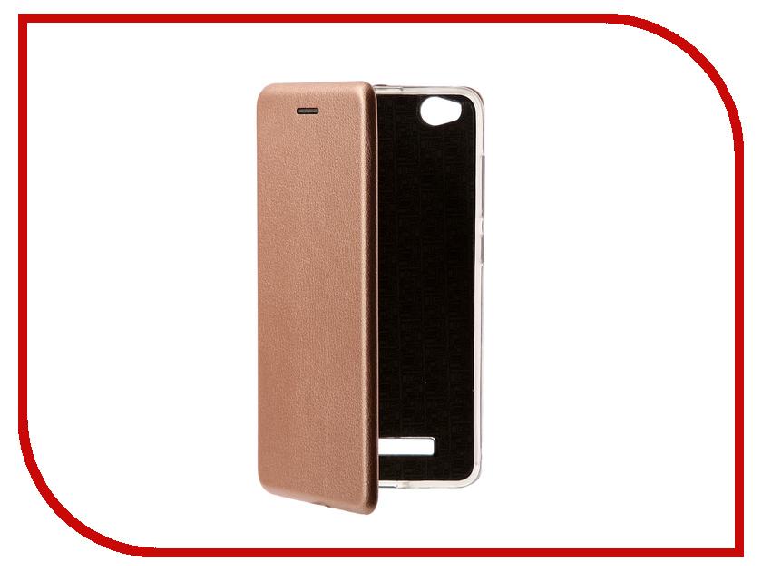 Аксессуар Чехол Xiaomi Redmi 4A Zibelino Book Pink Gold ZB-XIA-RDM-4A-PGLD аксессуар чехол xiaomi redmi 4x zibelino classico black zcl xia rdm 4x blk