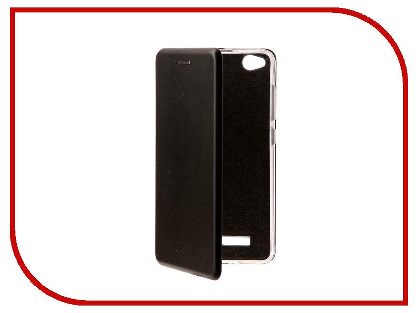 Аксессуар Чехол Xiaomi Redmi 4A Zibelino Book Black ZB-XIA-RDM-4A-BLK аксессуар чехол xiaomi redmi pro zibelino classico black zcl xia pro blk