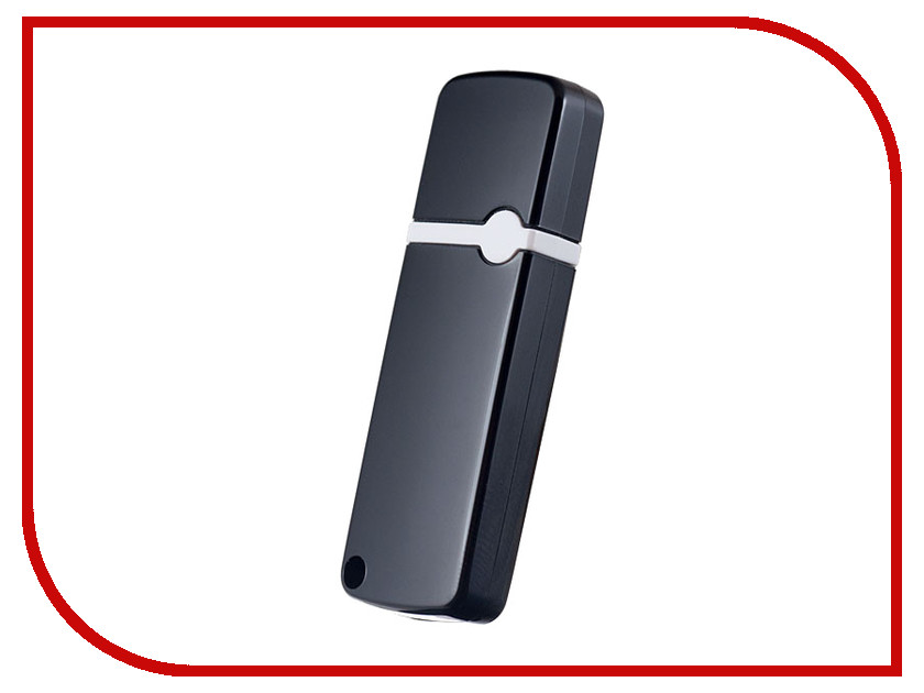 USB Flash Drive 128Gb - Perfeo C08 Black PF-C08B128 usb flash drive 16gb perfeo c04 black pf c04b016