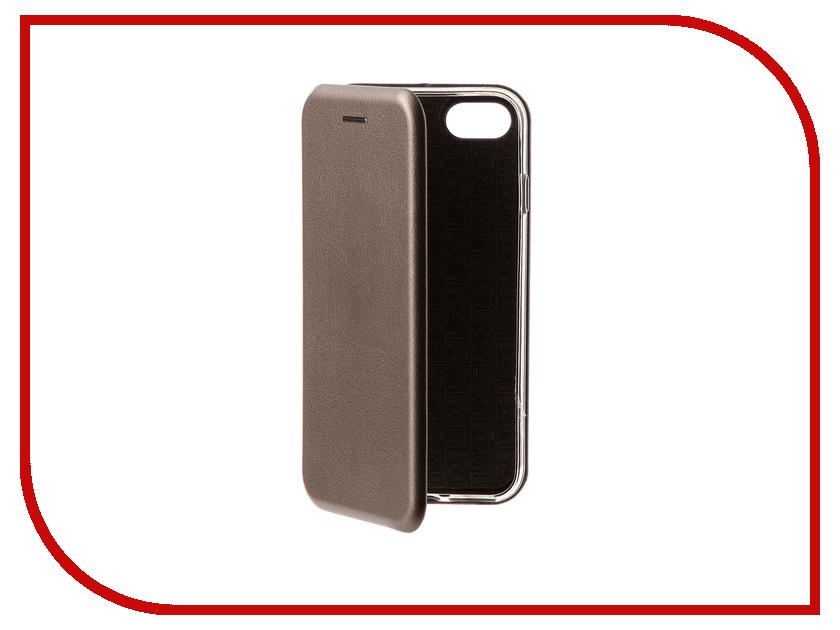Аксессуар Чехол Zibelino Book для APPLE iPhone 8 (4.7-inch) Grey ZB-APL-8-GRY аксессуар чехол huawei nova zibelino classico black zcl hua nov blk
