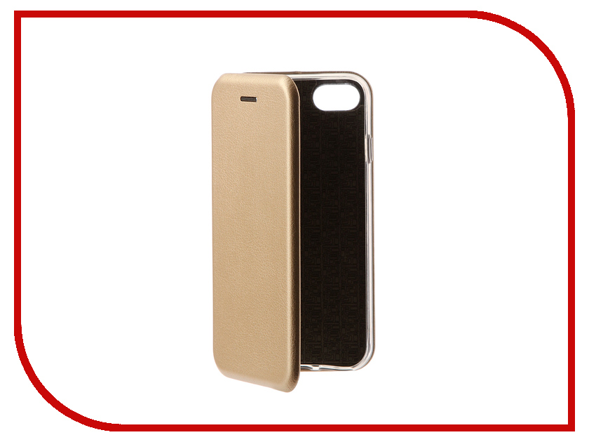 Аксессуар Чехол Zibelino Book для APPLE iPhone 8 (4.7-inch) Gold ZB-APL-8-GLD аксессуар чехол huawei nova zibelino classico black zcl hua nov blk