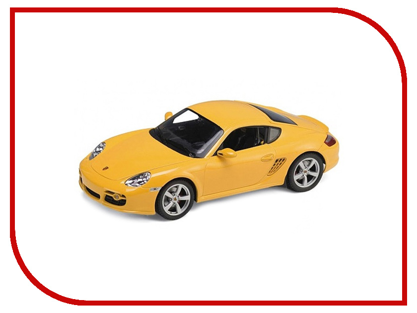 Игрушка Welly Porsche Cayman S 22488 welly 22488 велли модель машины 1 24 porsche cayman s