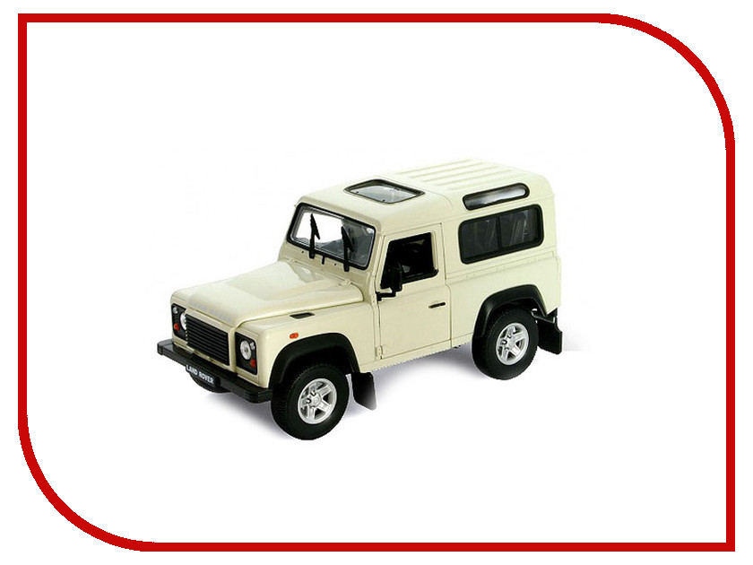 Игрушка Welly Land Rover Defender 22498 land rover defender 1998 г