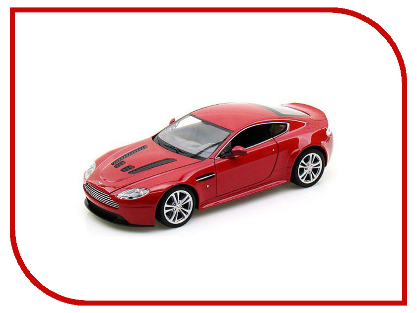 Игрушка Welly Aston Martin V12 Vantage 24017 welly aston martin v12 vantage 1 34 39