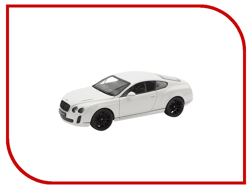 Игрушка Welly Bentley Continental Supersports 24018 bentley r type continental 1954 yat ming1 43