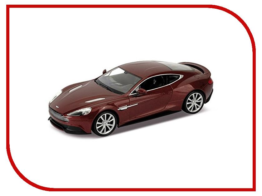 Машина Welly Aston Martin Vanquish 24046 welly модель машины 1 24 aston martin v12 vantage welly