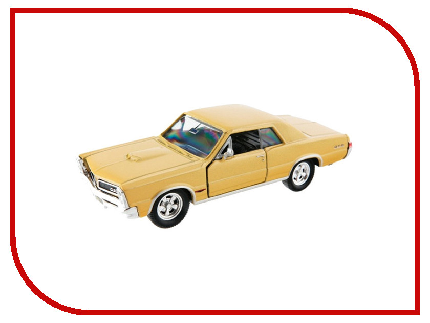 Игрушка Welly Pontiac GTO 1965 42313