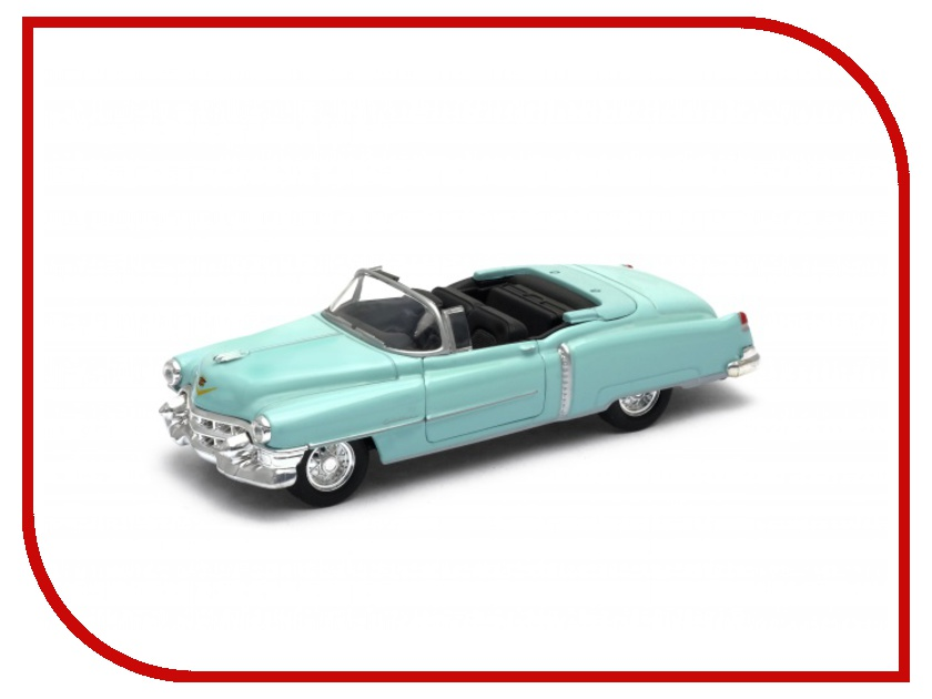 Фото Игрушка Welly Cadillac Eldorado 1953 42356C