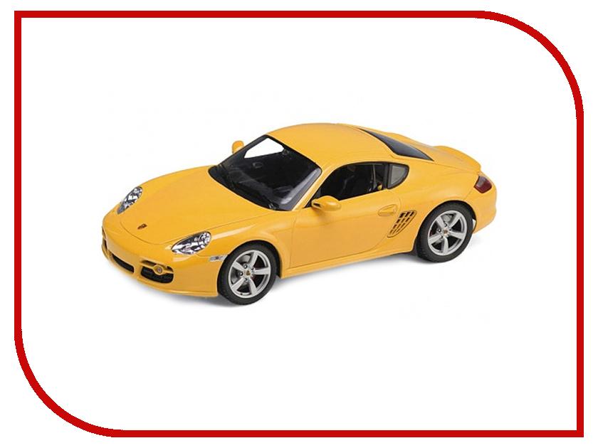 Игрушка Welly Porsche Cayman S 42374 welly модель машины 1 34 39 porsche cayman s красный 42374