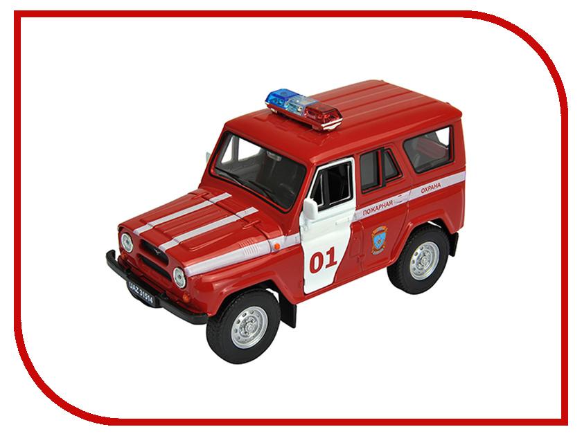 Игрушка Welly УАЗ 31514 Пожарная Охрана 42380FS ideal lux бра ideal lux minimal ap1 rosso