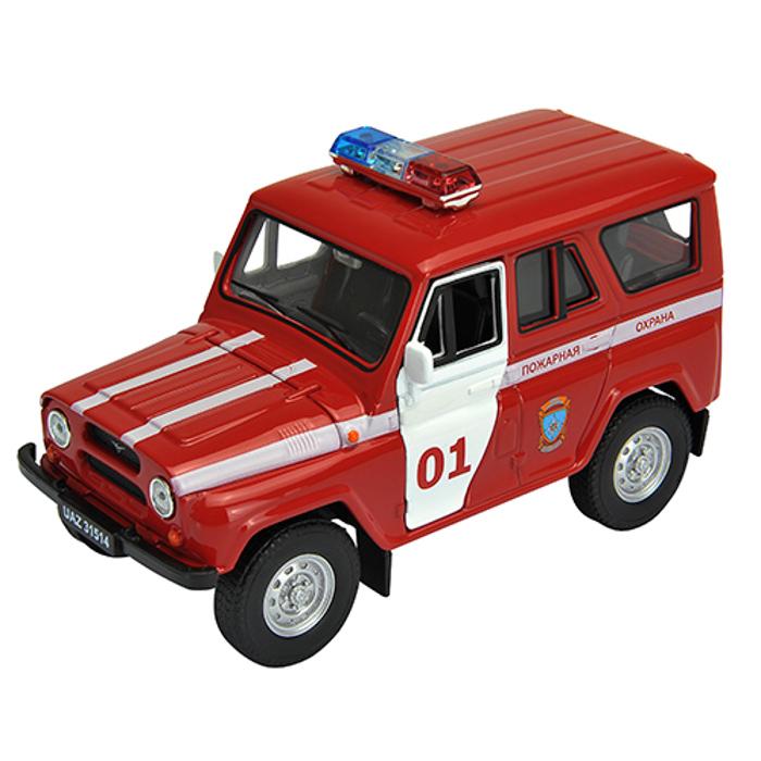 Игрушка Welly УАЗ 31514 Пожарная Охрана 42380FS