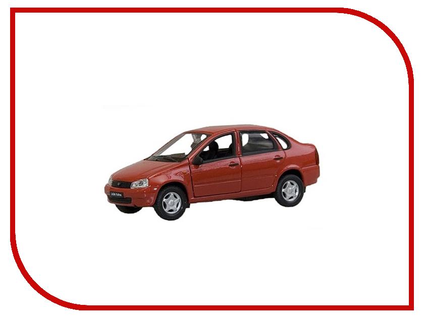 Машина Welly LADA Kalina 42383 машина welly lada vesta такси 43727ti