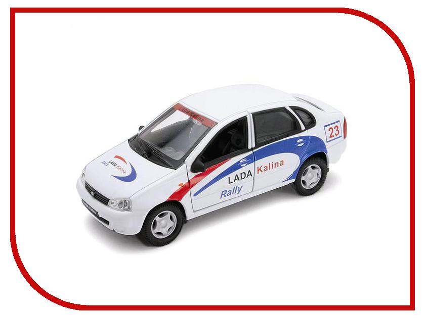 Машина Welly LADA Kalina Rally 42383RY машинки autotime машина lada 2104 такси