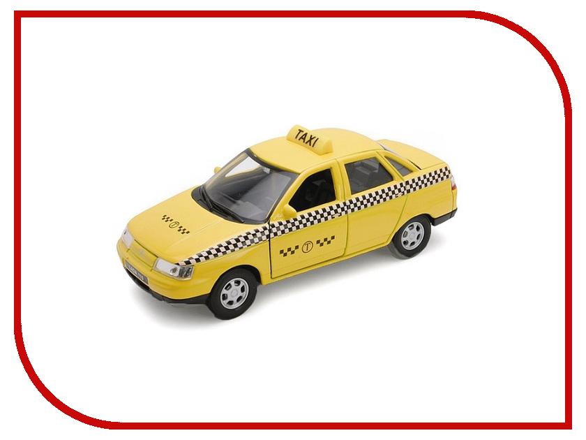 Машина Welly LADA 110 Такси 42385TI машинки autotime машина lada 2104 такси