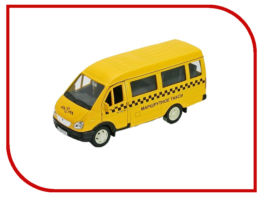 Машина Welly ГАЗель Такси 42387ATI машины технопарк машина газель такси