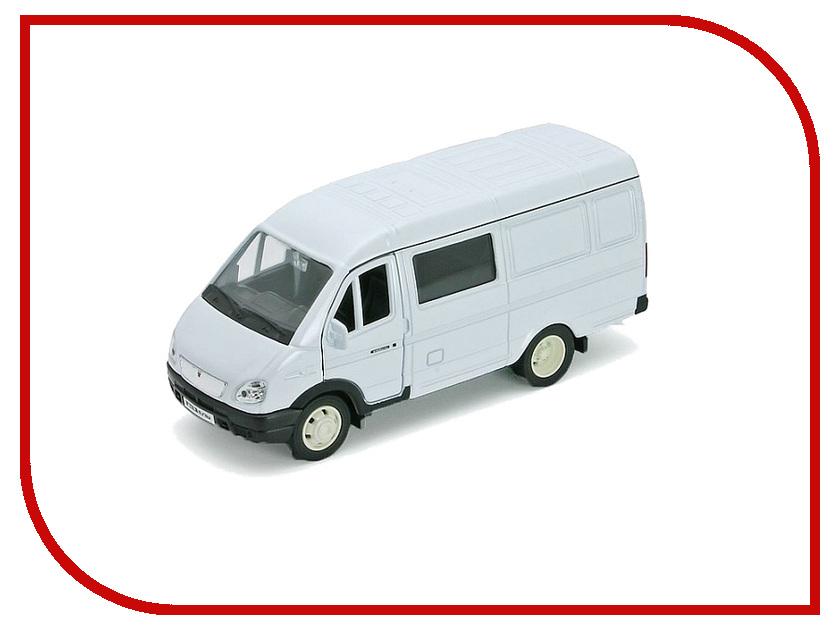 Игрушка Welly ГАЗель фургон с окном 42387B