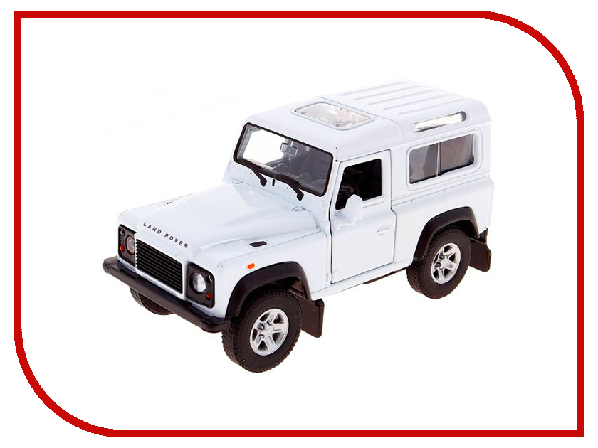 Игрушка Welly Land Rover Defender 42392 land rover defender 1998 г