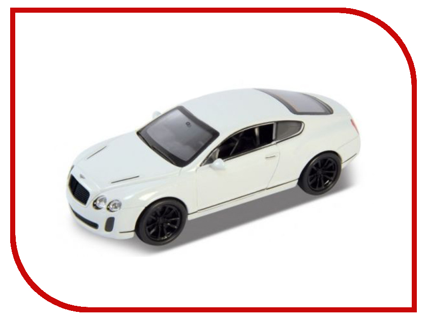 Игрушка Welly Bentley Continental Supersports 43623 bentley r type continental 1954 yat ming1 43