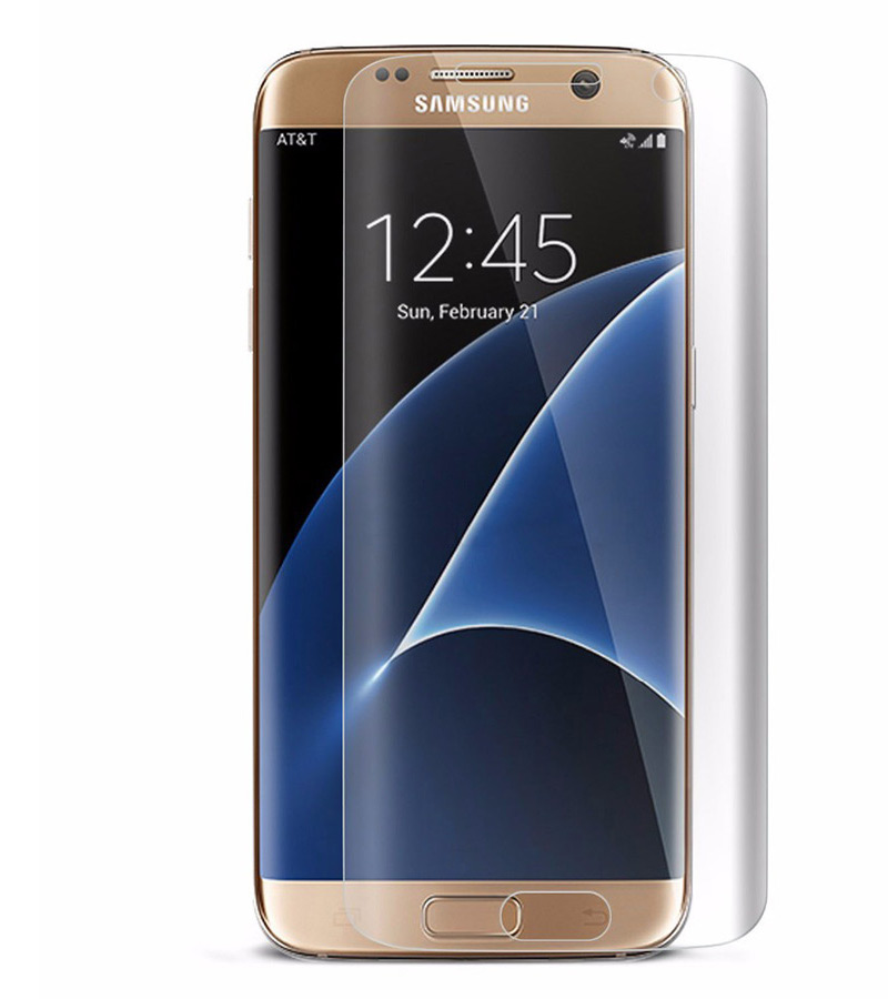 Аксессуар Защитная плёнка для Samsung Galaxy S7 Edge Monsterskin Super Impact Proof 360 Matte аксессуар чехол накладка для samsung galaxy s7 monsterskin hd crash guard