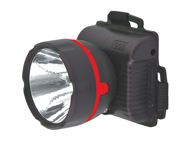 Фонарь UltraFlash 909LED1 Black 11780