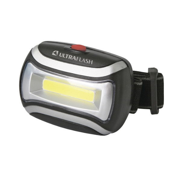 Фонарь UltraFlash LED5380 Black 12870 цена