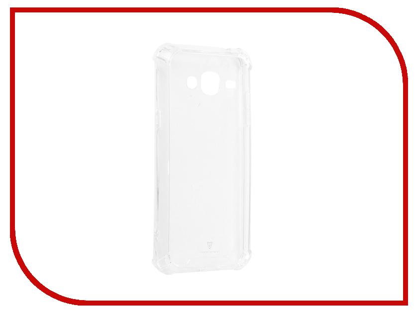 Аксессуар Чехол-накладка для Samsung Galaxy J3 2016 J310/J320 Monsterskin HD Crash Guard аксессуар чехол samsung galaxy j3 2017 cojess tpu 0 3mm transparent