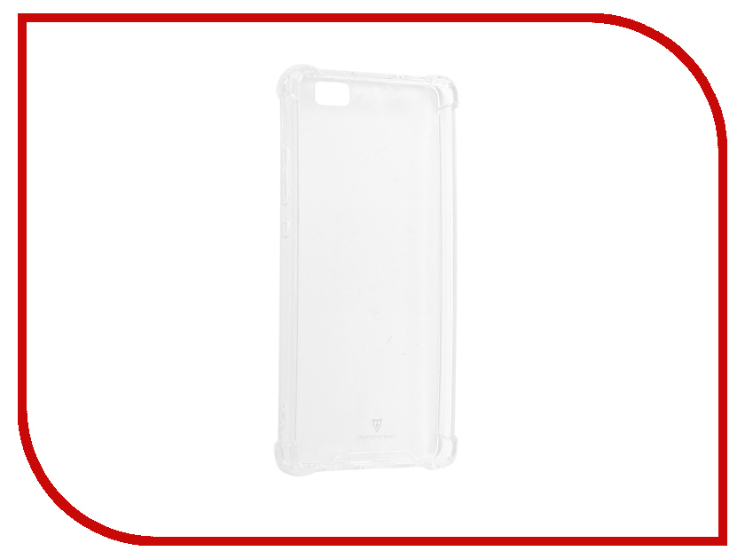 Аксессуар Чехол-накладка для Huawei P8 Lite Monsterskin HD Crash Guard mooncase wooden style hard rubber shell back чехол для cover huawei ascend p8 lite beige