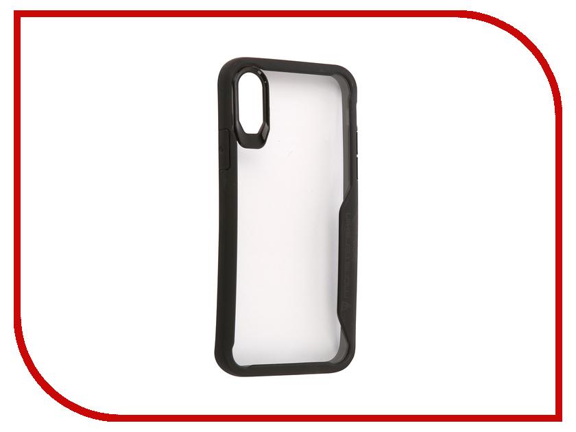 Аксессуар Чехол Monsterskin Urban Guard для APPLE iPhone X аксессуар защитная пленка protect для apple iphone x front