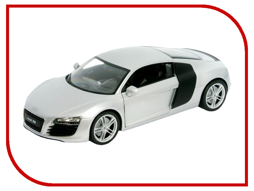 Машина Welly Audi R8 43633 легковой автомобиль welly 22493w audi r8 1 24
