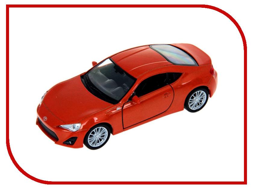 Машины 43669  Машина Welly Toyota 86 43669