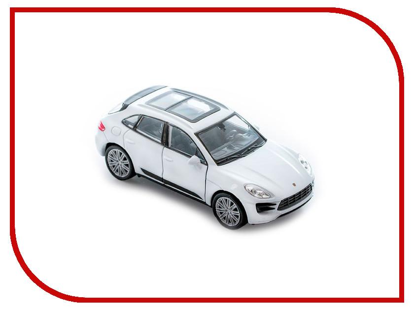 Игрушка Welly Porsche Macan Turbo 43673 uni fortunetoys модель автомобиля porsche cayenne turbo