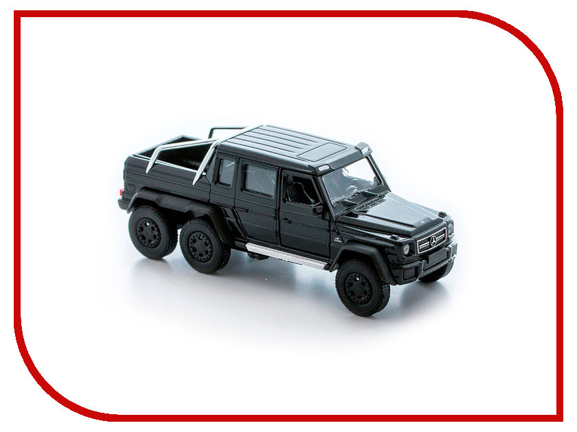 Игрушка Welly Mercedes-Benz G63 AMG 6x6 43704 игрушка welly mercedes benz glk 43684 page 1